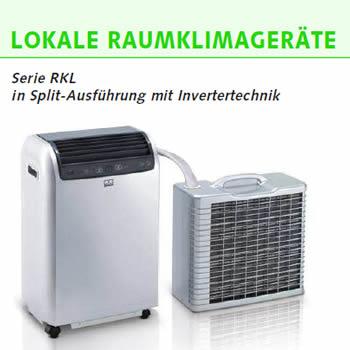 Mobile Klimageräte Splitausführung