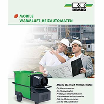 Remko Mobile Warmluft Heizautomaten - Renotherm