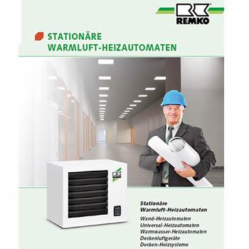 Stationäre Warmluft-Heizautomaten von Remko bei Renotherm