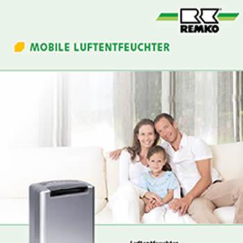 Mobile Luftentfeuchter von Remko bei Renotherm